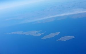 Aran Islands - aerial view
